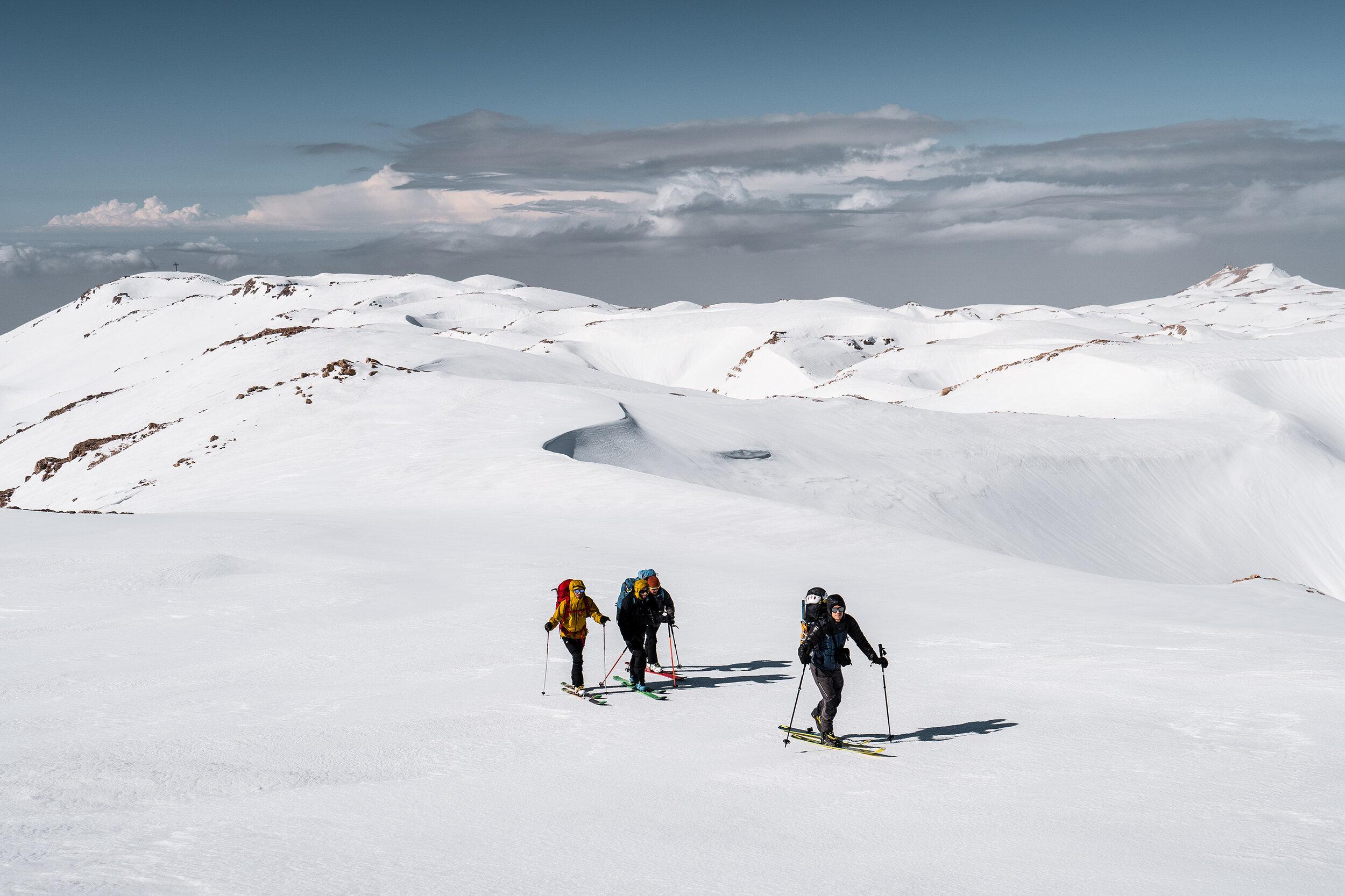 Sommet du Mont Sannine