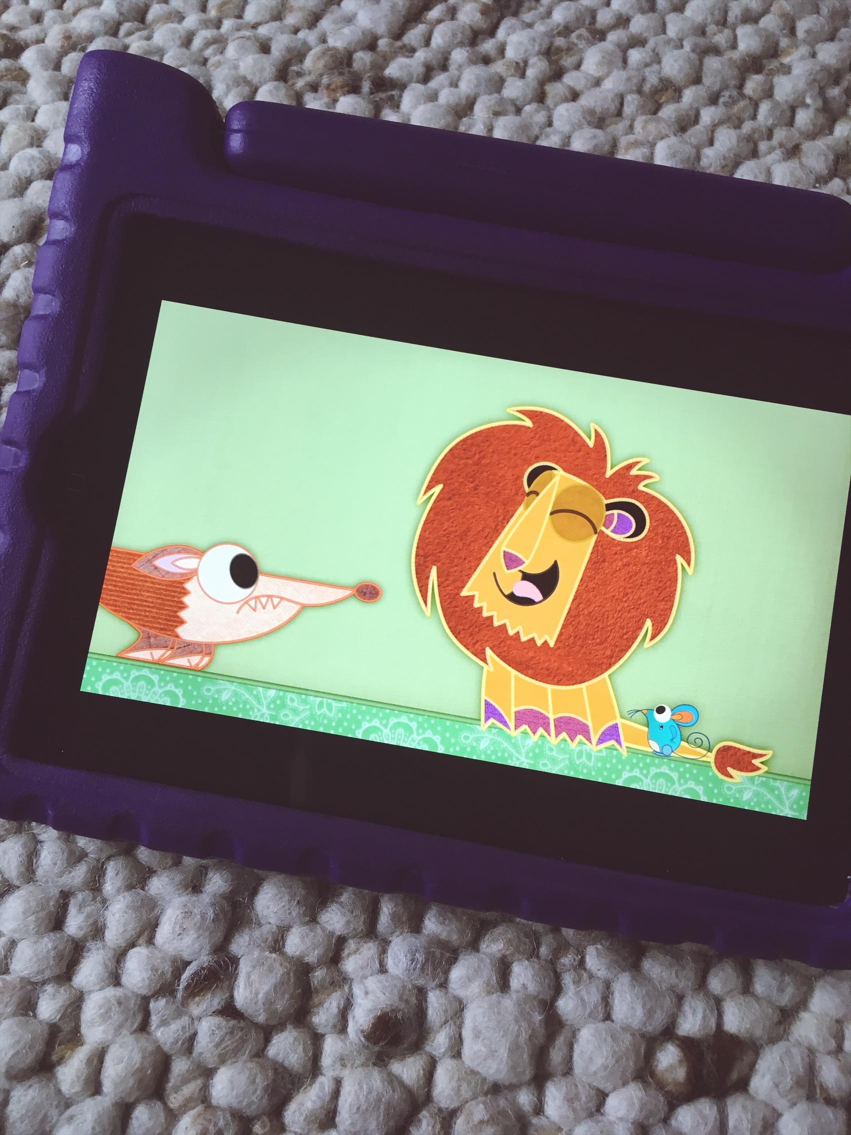 Der Löwe findet sein Brüllen wieder.