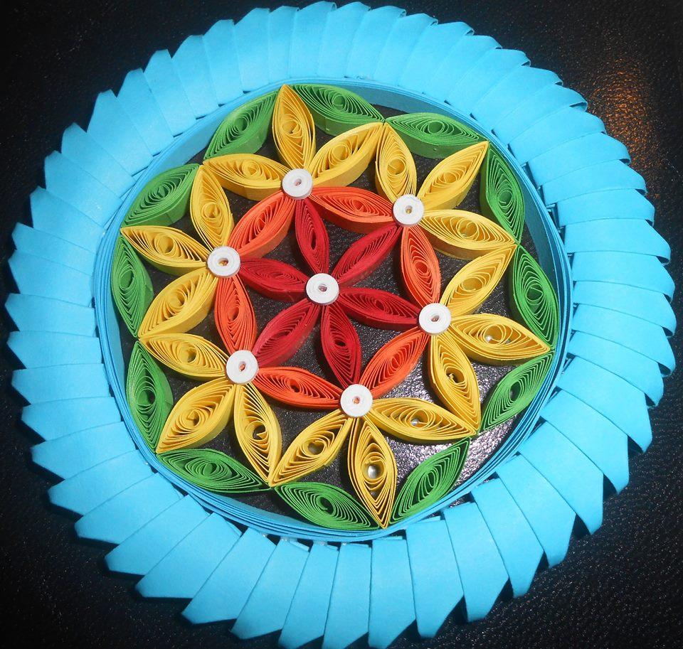 © 3D origami in quilling, Cvet življenja