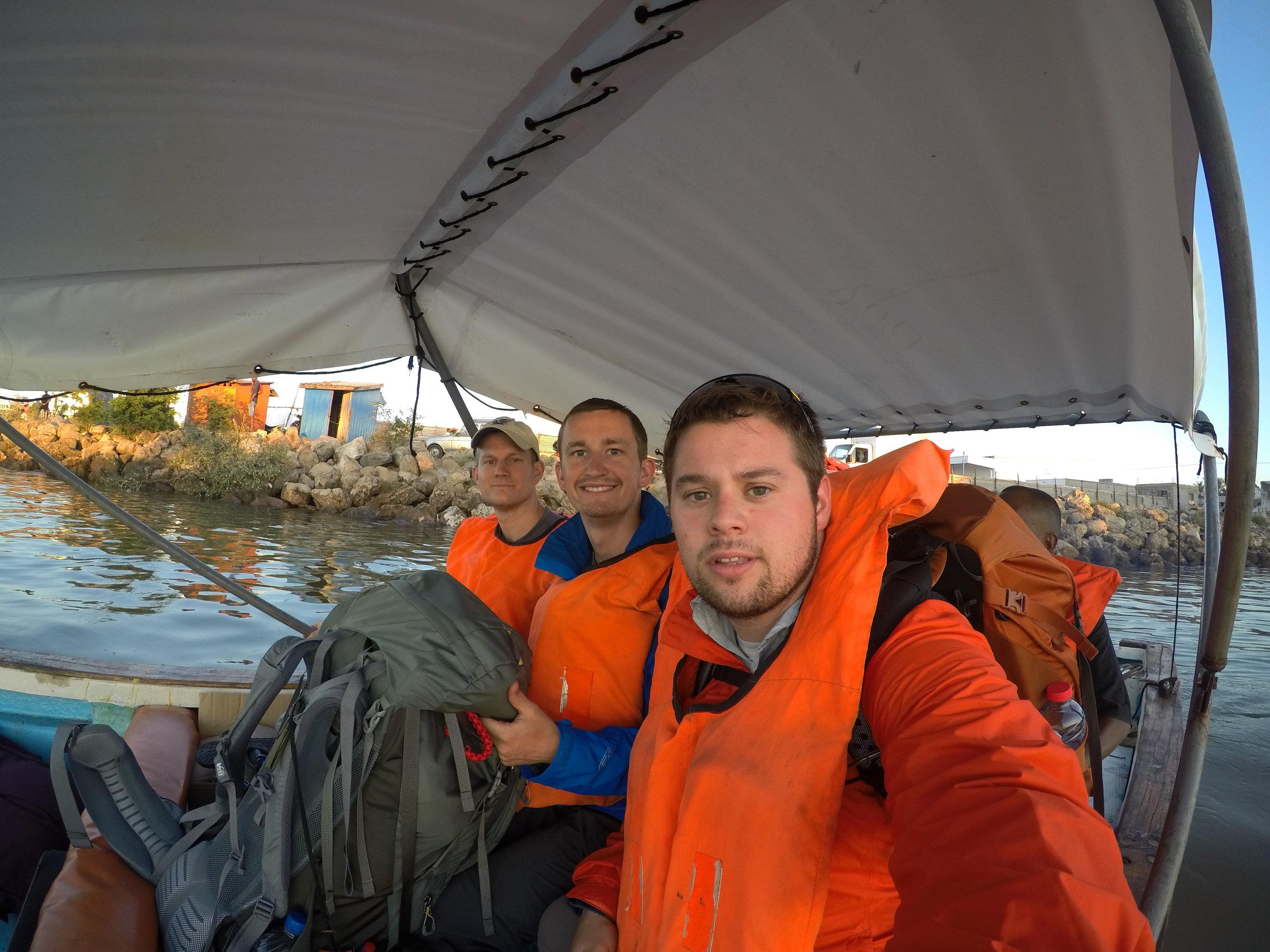This boat took us across the bay in Mahajanga.