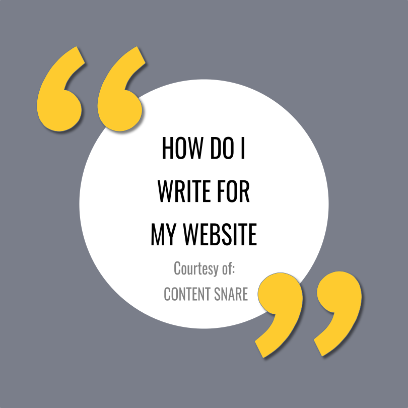 How to Write Effective Copy for Your Website Article by  Content Snare