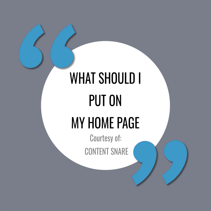 7 Tips for Writing an Impactful Home Page Article by  Content Snare