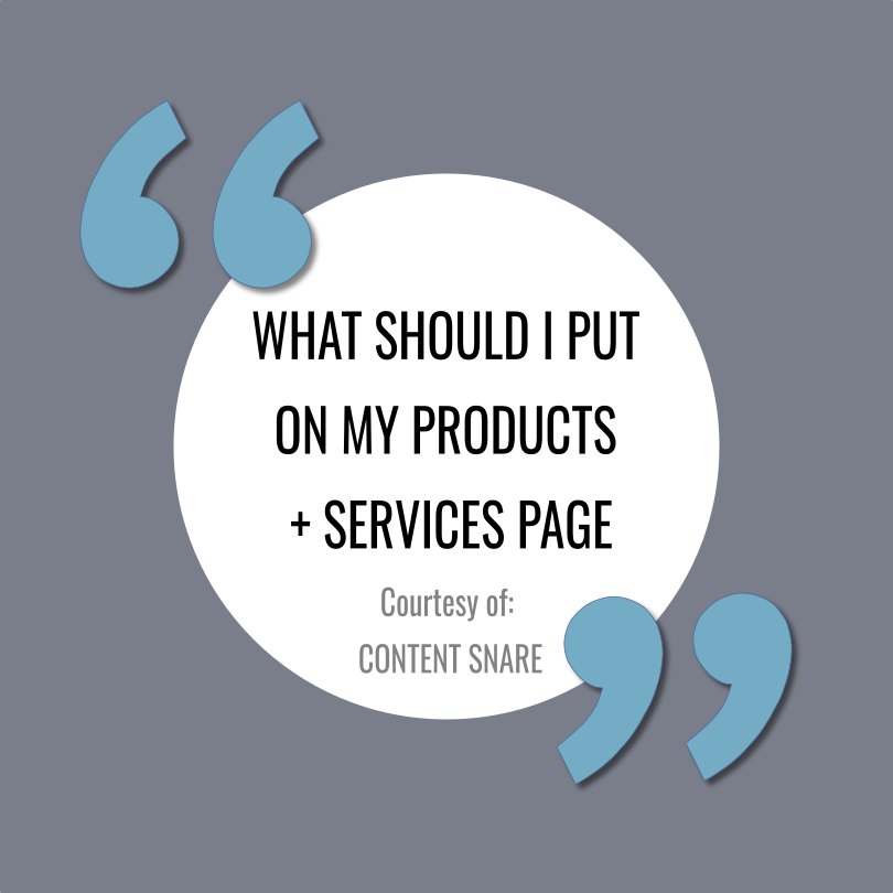7 Tips for Writing an Effective Services/Product Page by  Content Snare
