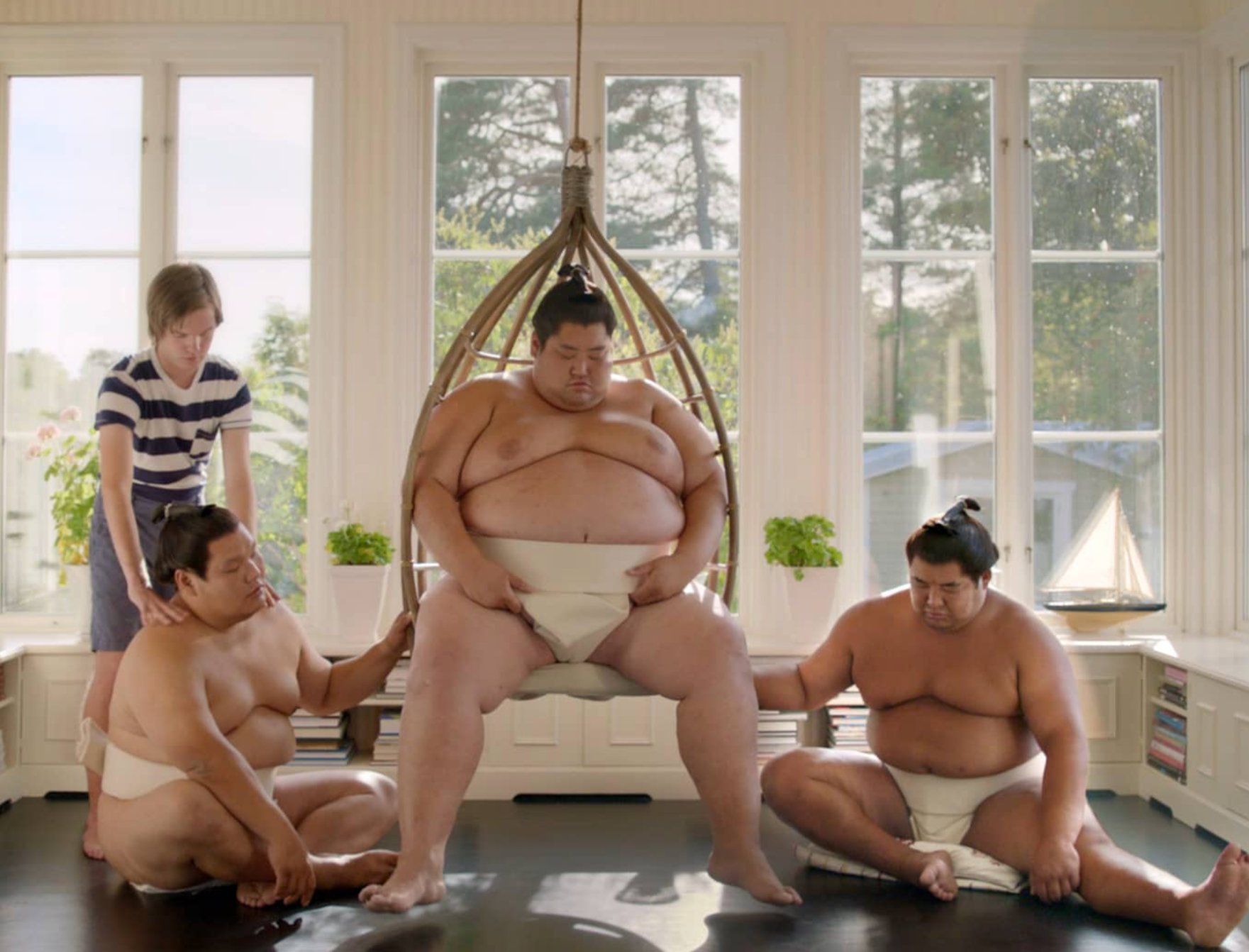 The Sumos - Probably the world's heaviest and most powerful exchange students.