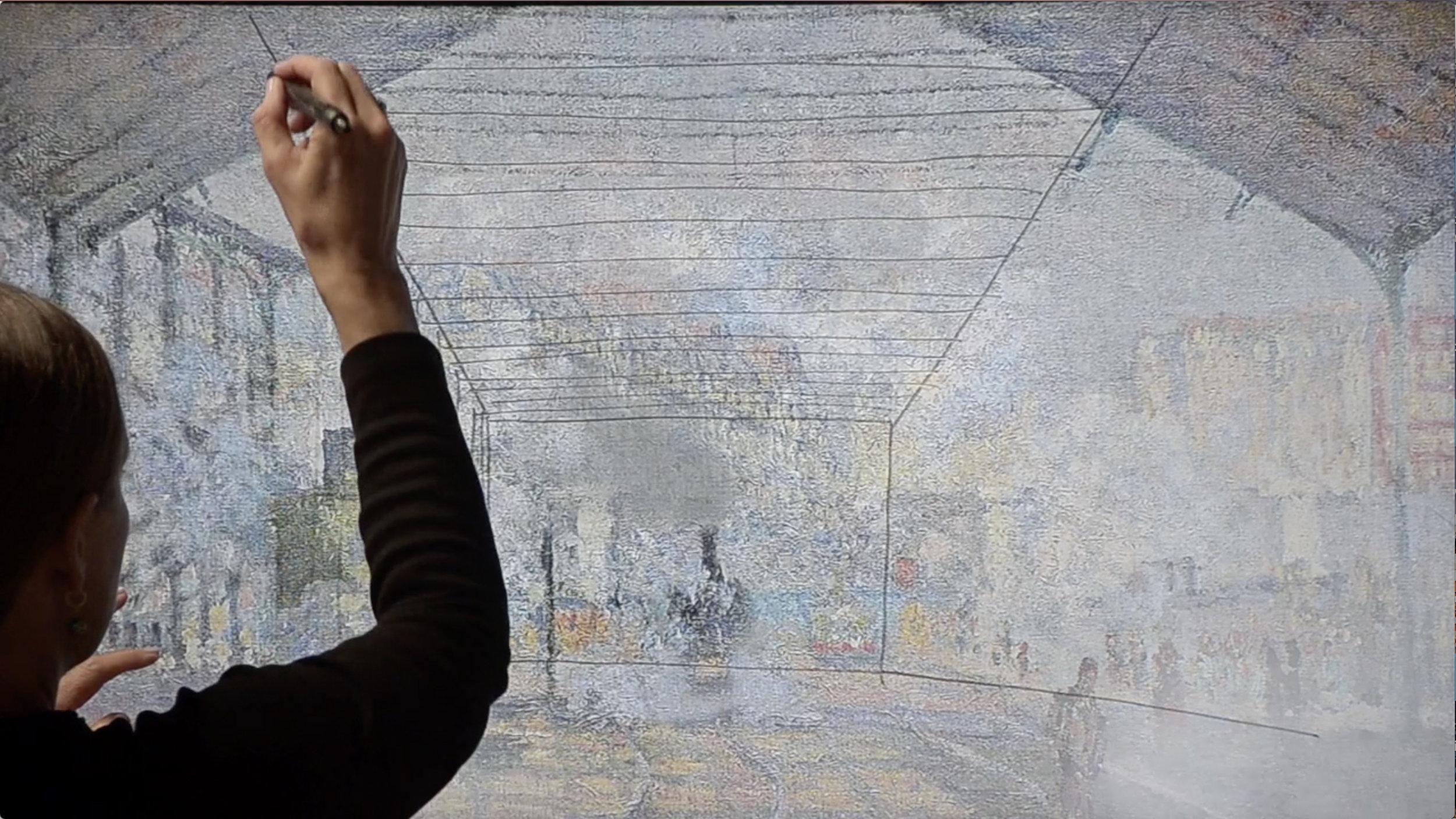Graffitting Monet