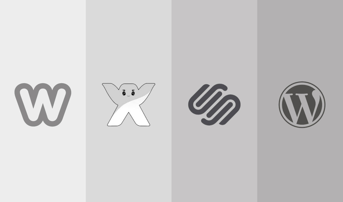 Weebly, WIX Squarespace and Wordpress are all Content Management Systems (CMS)