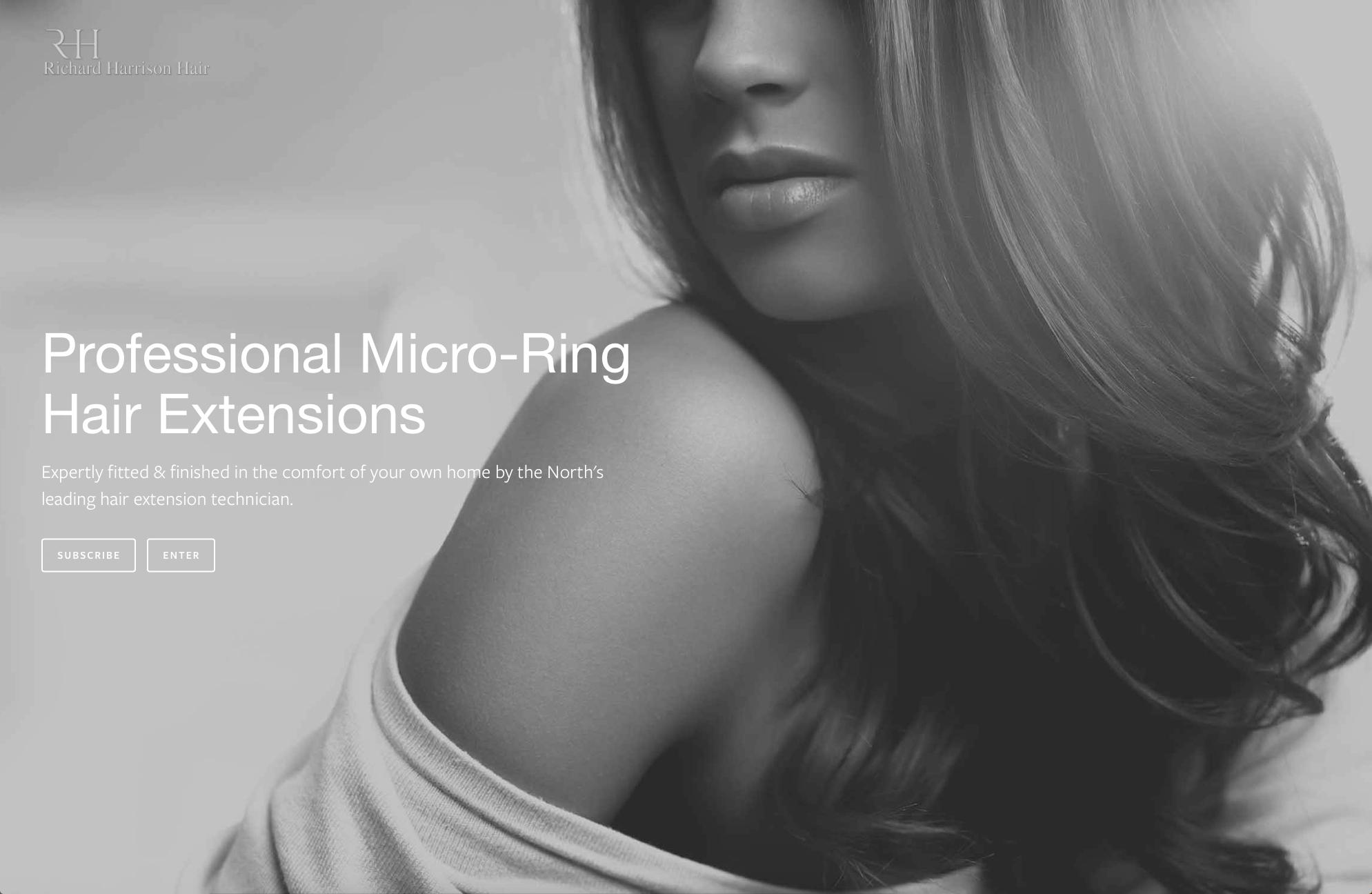 Lithium Design - Small Business Portfolio Richard Harrison Hair 1c