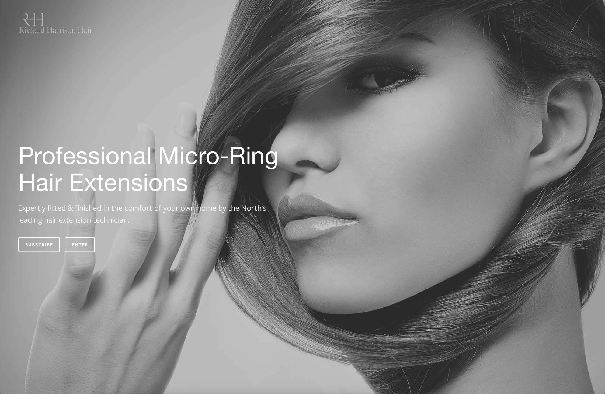 Lithium Design - Small Business Portfolio Richard Harrison Hair 1d