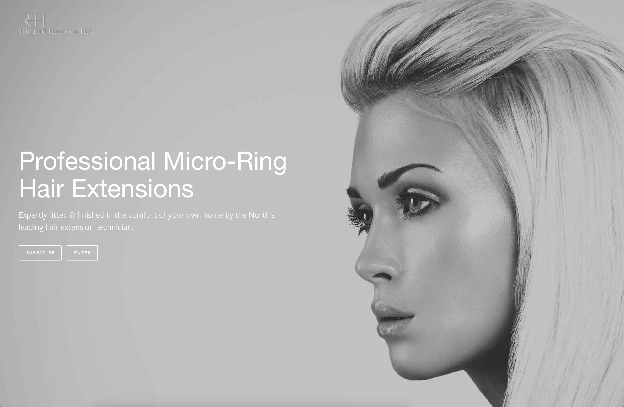 Lithium Design - Small Business Portfolio Richard Harrison Hair 1e
