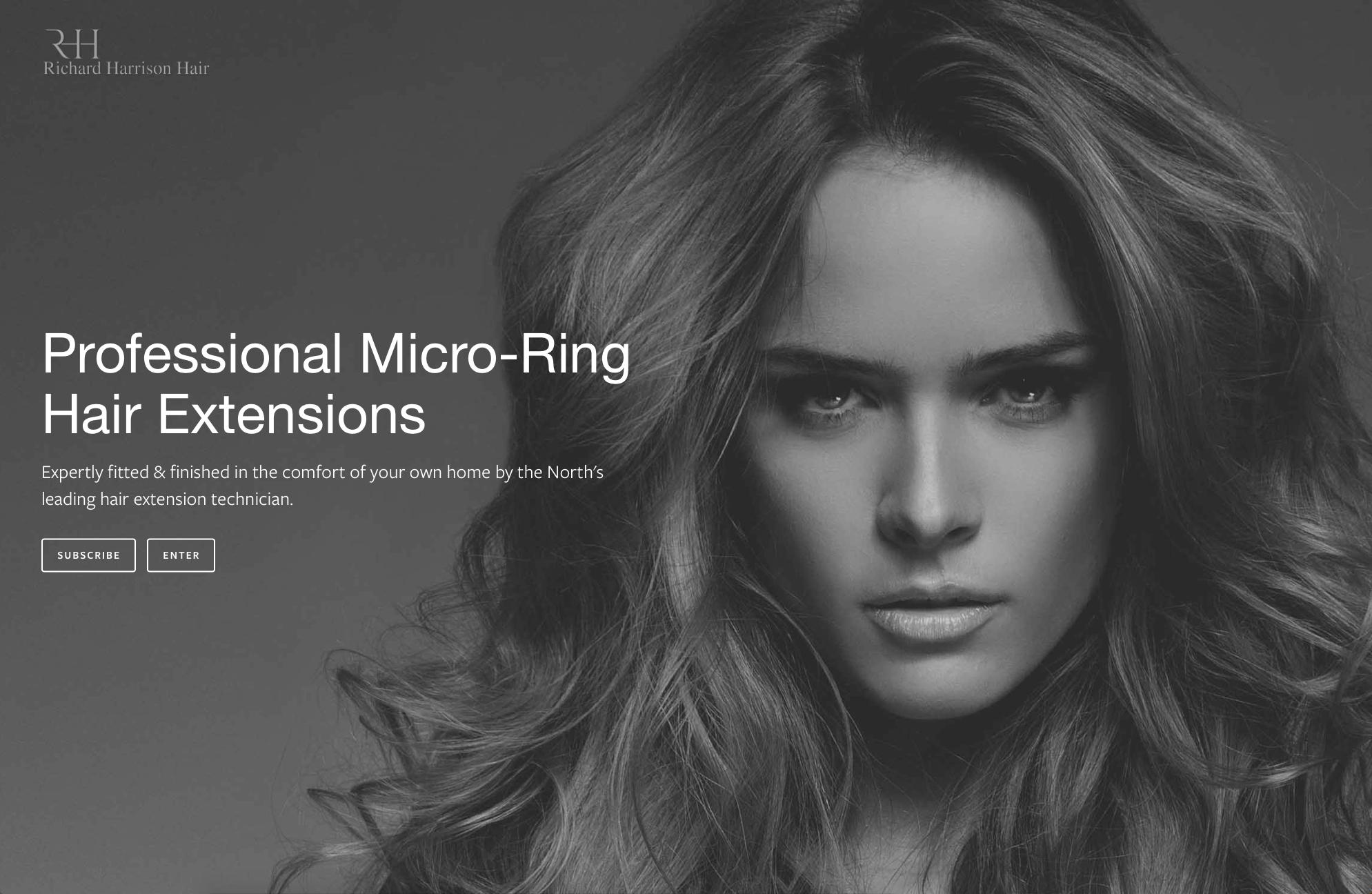 Lithium Design - Small Business Portfolio Richard Harrison Hair 1f
