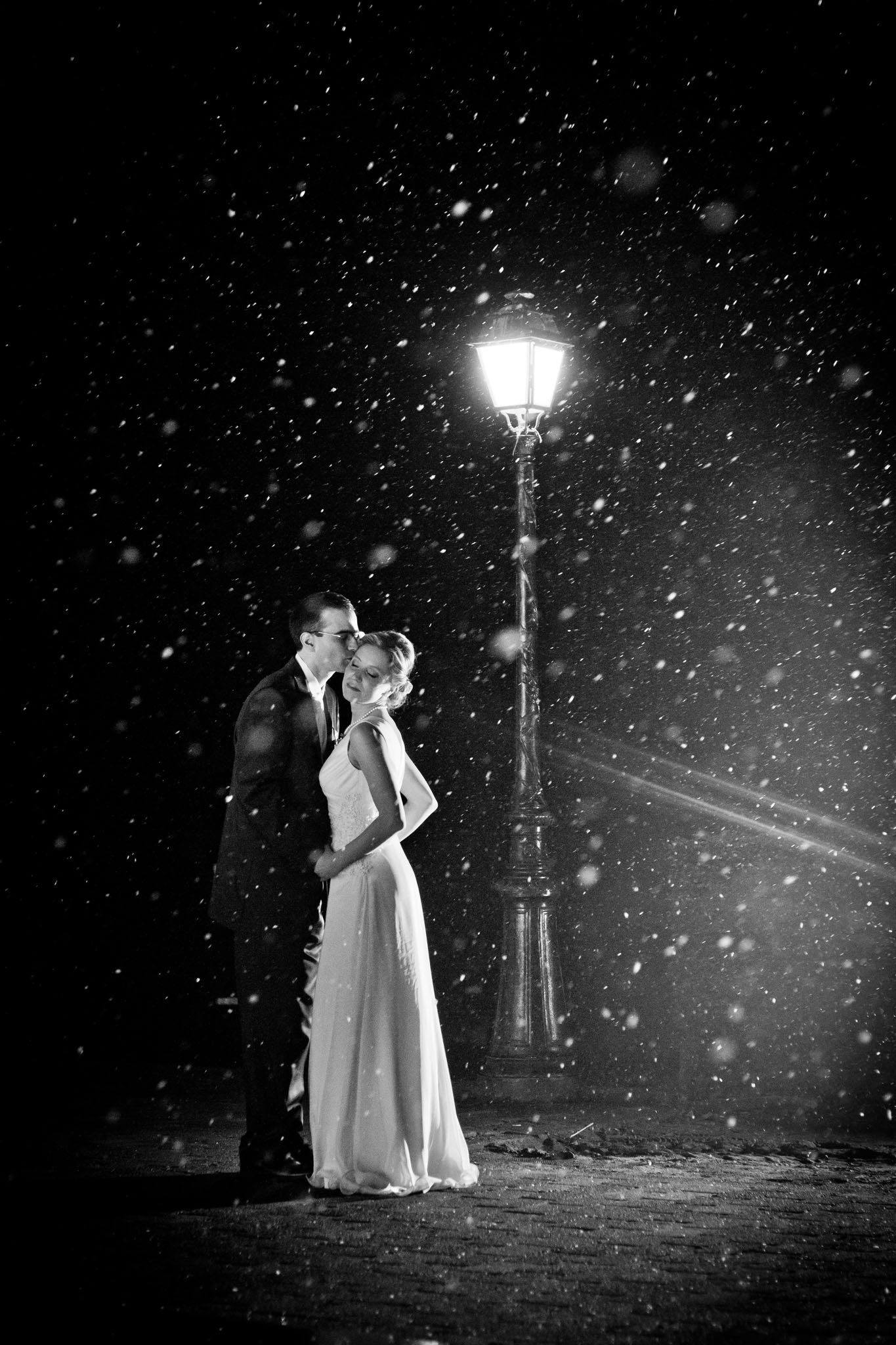 Romantic Wedding photo by wedding photographer Valdur Rosenvald
