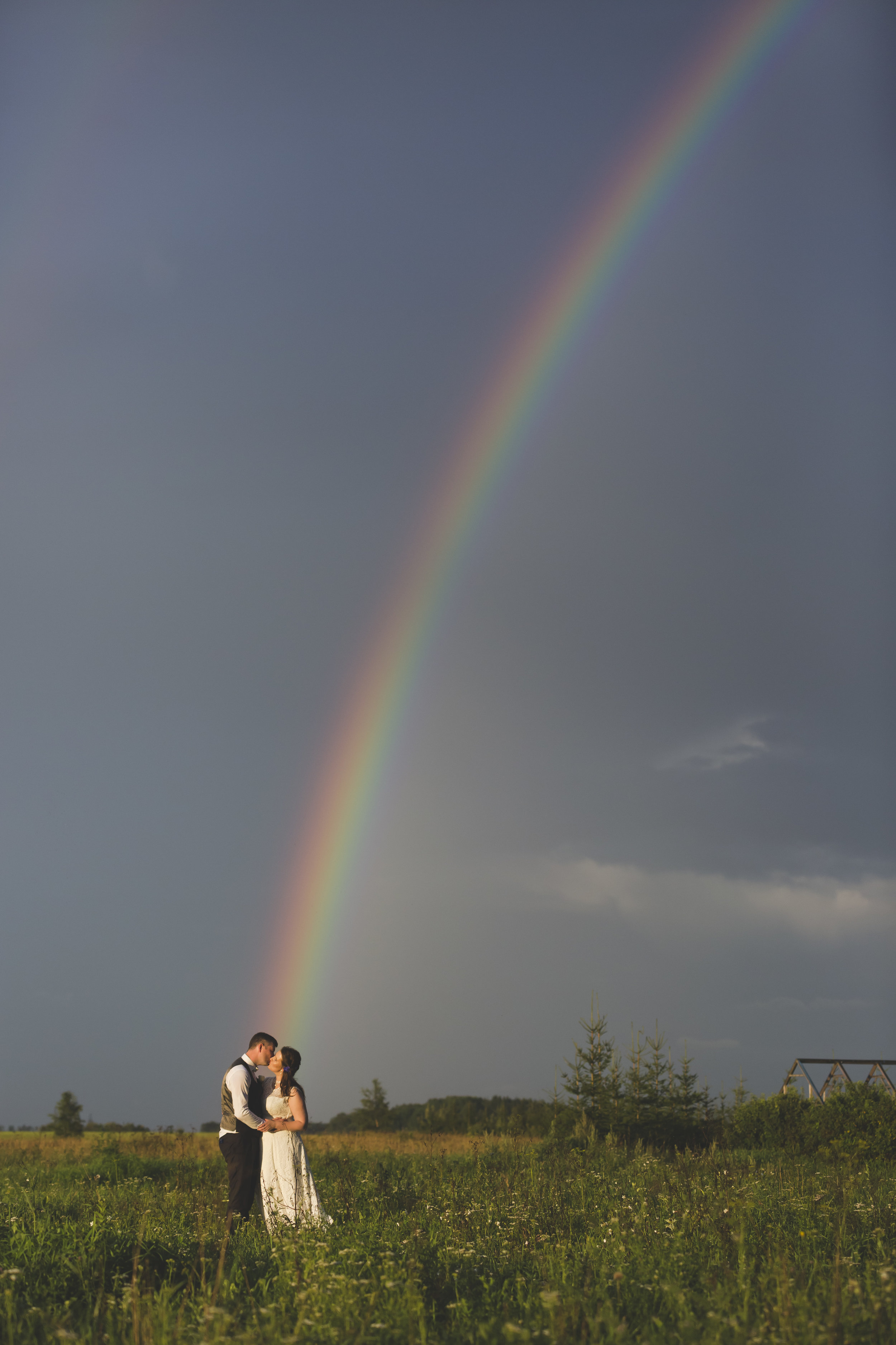 Rainbow Wedding photo by wedding photographer Valdur Rosenvald