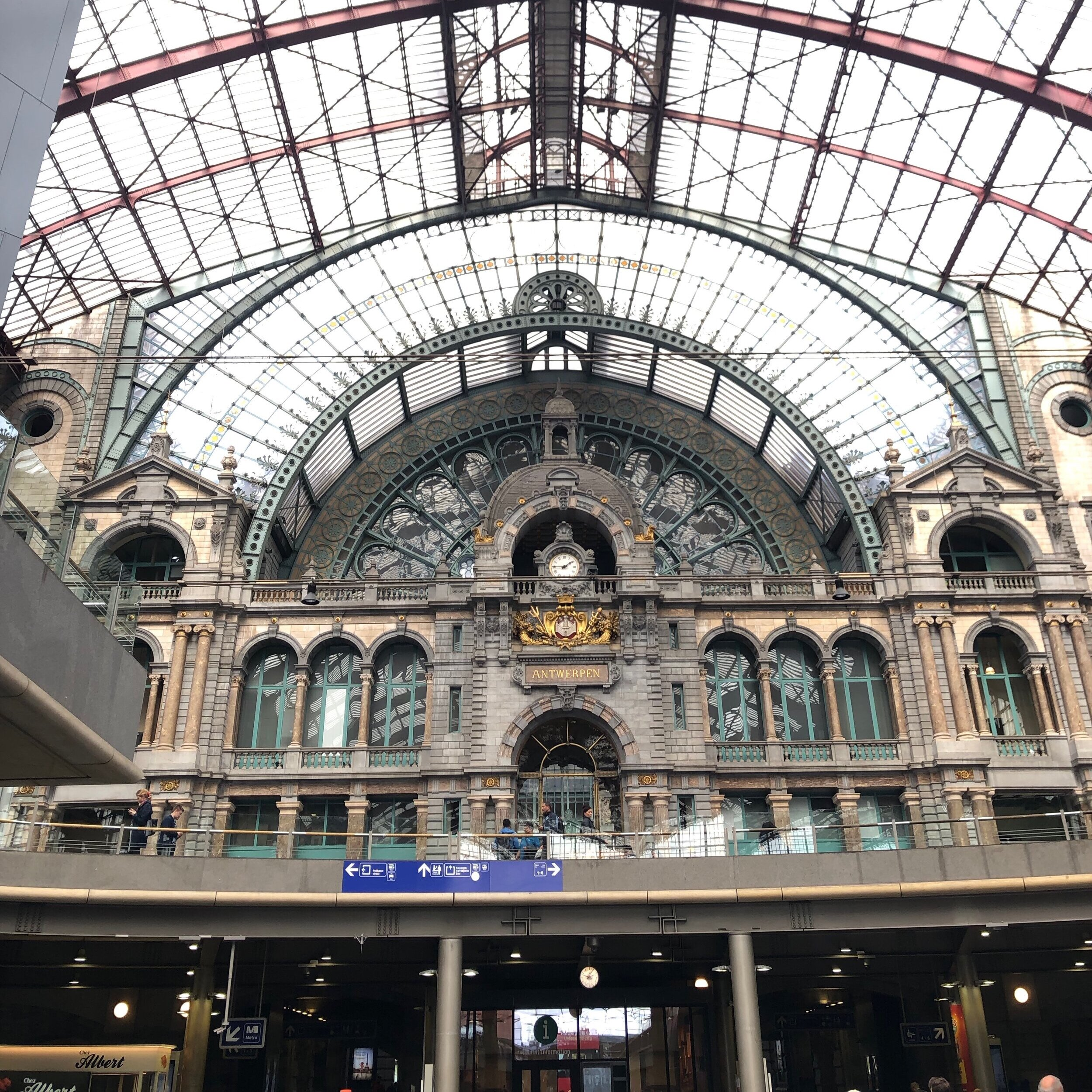 Antwerp Central Station