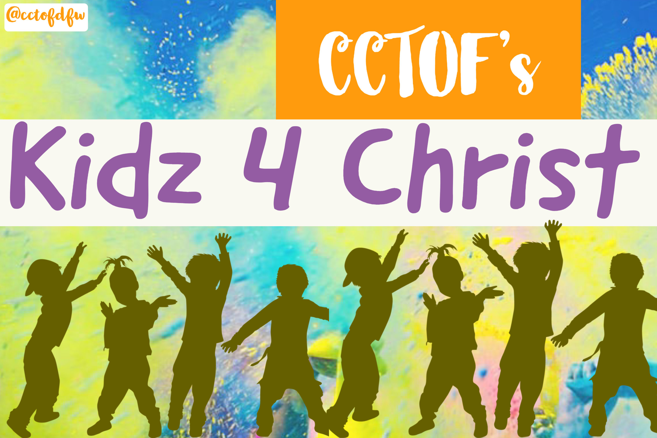 K.F.C. - Kids For Christ Mission is to teach our children about Christ and let them know it is okay to walk, talk, and witness for HIM. We want them to know that they are never too young to be a disciple of Christ.