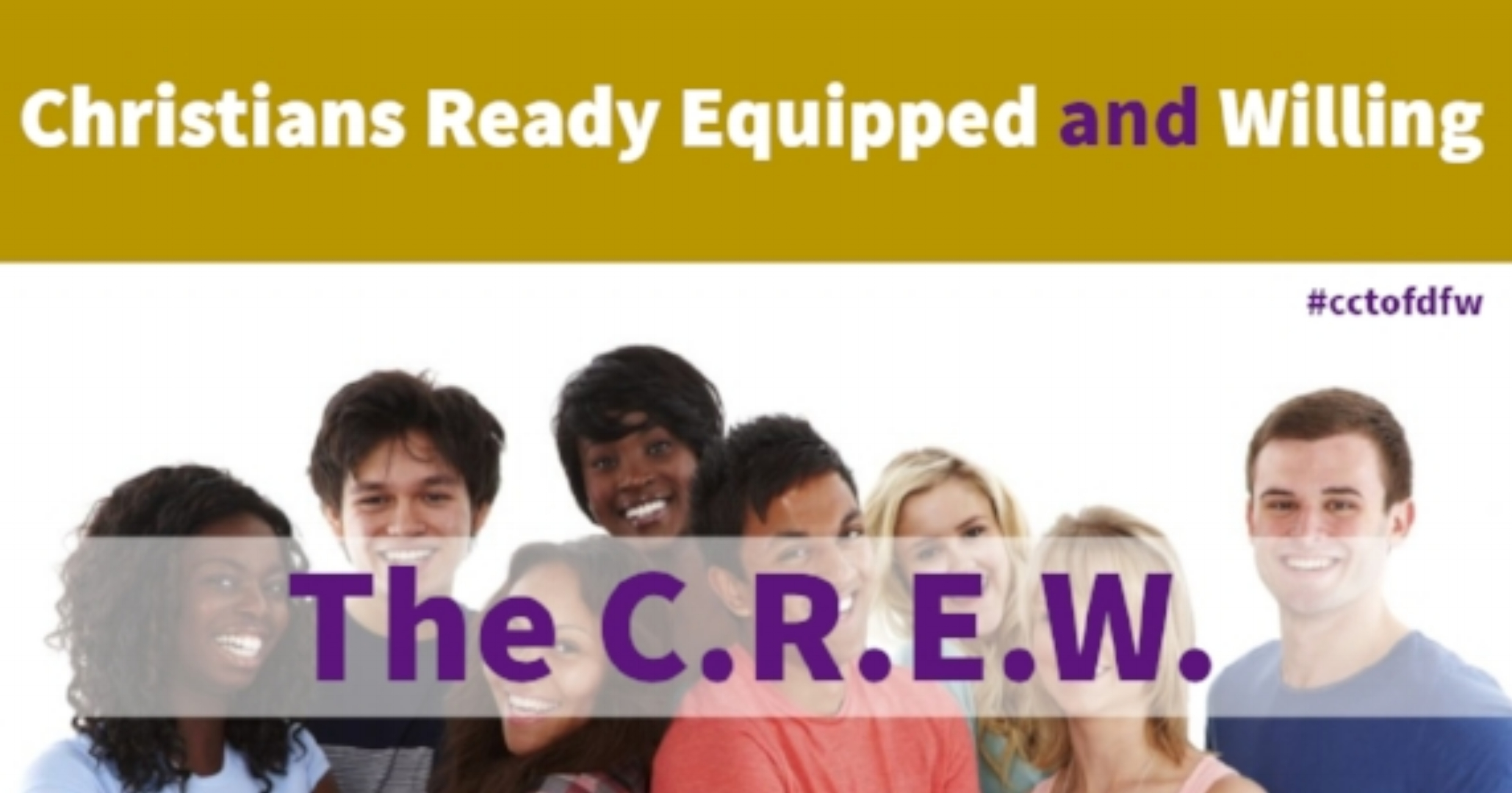 The C.R.E.W. - We hope to empower our youth to be able to take Godly principles and utilize them in day to day situations. Click the picture to visit our Facebook page to learn more about us and what we do!