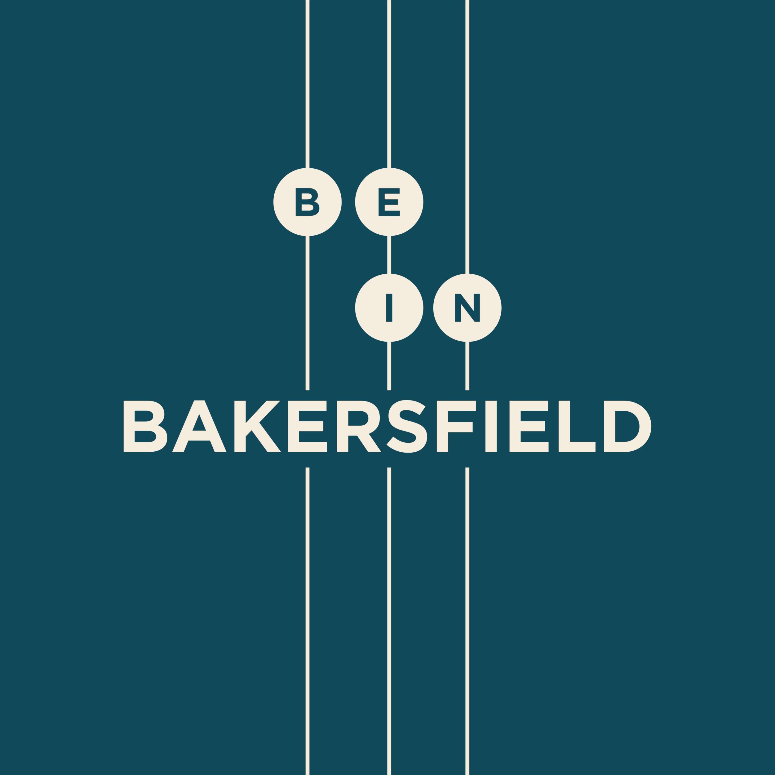 Be in Bakersfield logo