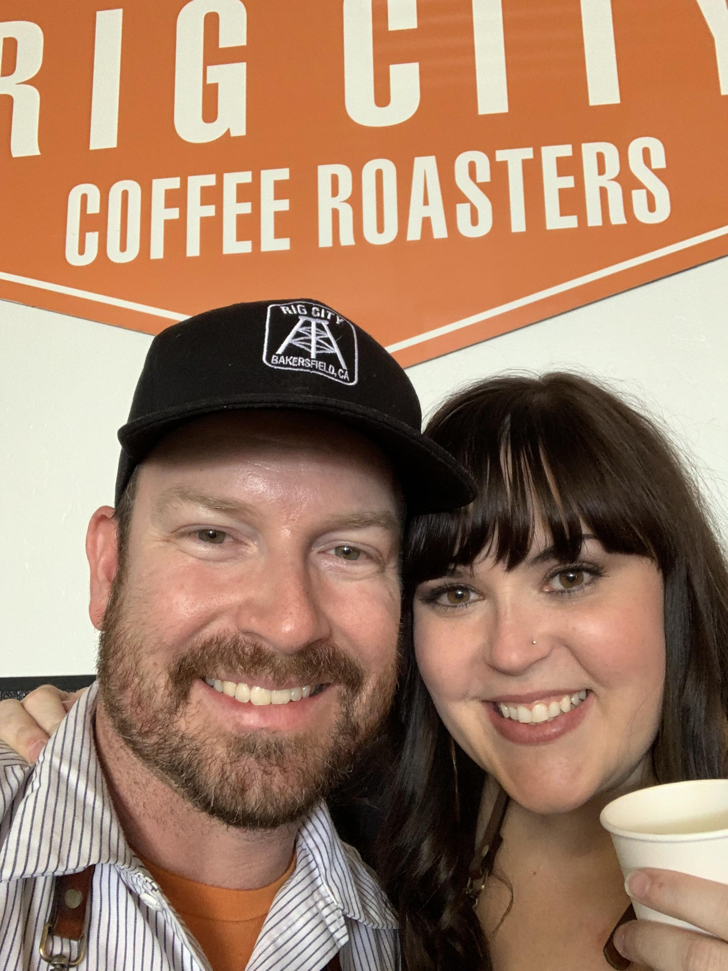 Thank you to Isaac + Shannon for sharing their love of really good coffee with the Bakersfield community.