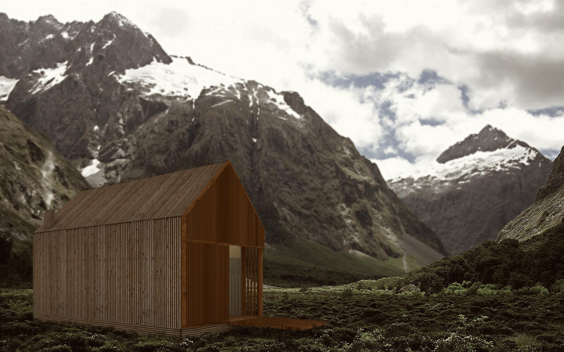 """Há uma casa minúscula (mas com """"um espaço grande"""") num terreno alentejano"""