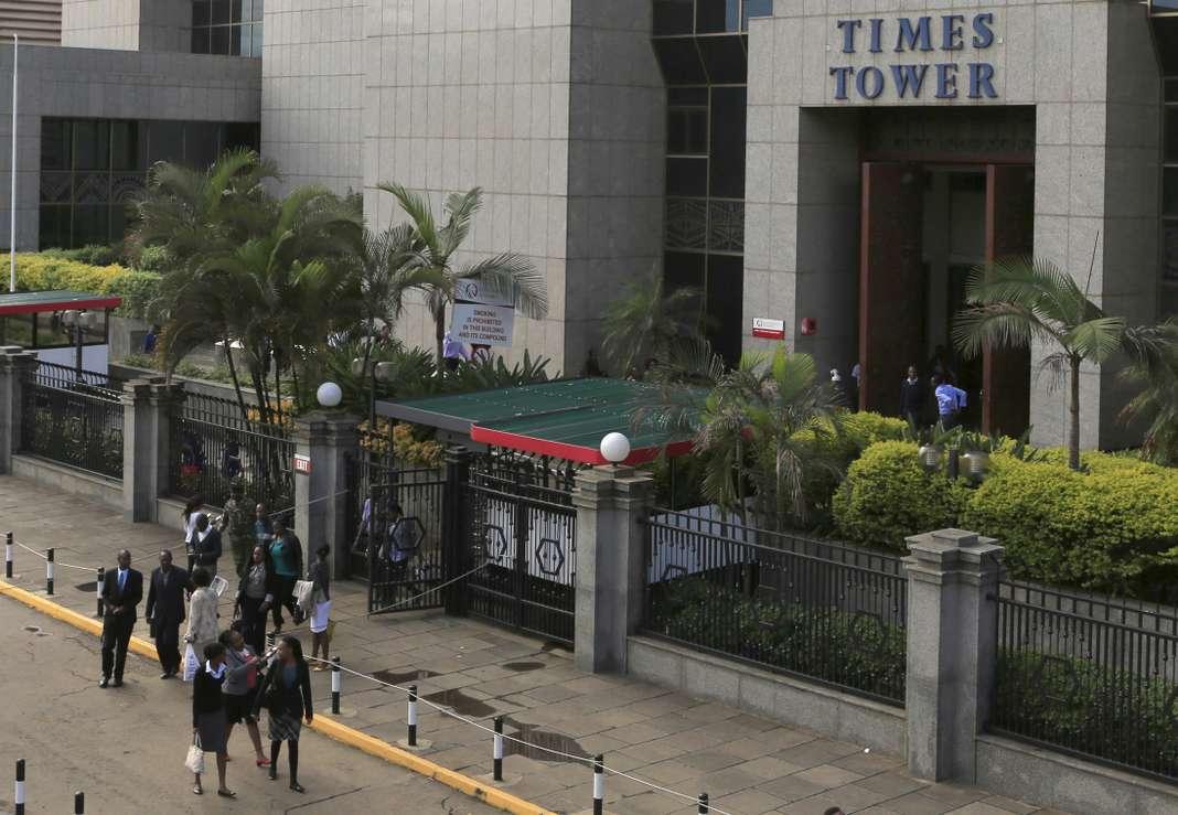 Le siège de l'administration fiscale du Kenya, KRA, à Nairobi en 2015.Noor Khamis / REUTERS