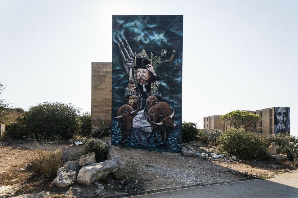 Pembroke, à Malte. Les grands sites de jeu en ligne européens s'y sont installés, attirés par ses faibles prélèvements: le secteur représente presque 1/8e de l'économie locale.Photo G. CIPRIANO. NYT-REDUX-REA