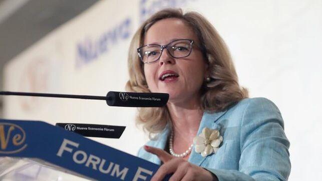 La ministra de Economía y Empresa, Nadia Calviño en una imagen de archivo EFE