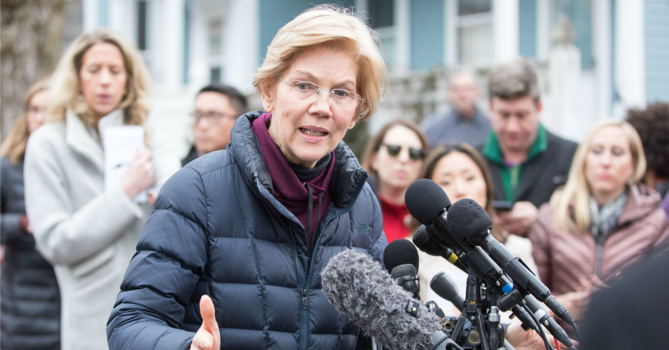 The fact that two women have kick-started a much-needed debate about taxes in the United States is not a coincidence. (Photo: Scott Eisen/Getty Images)