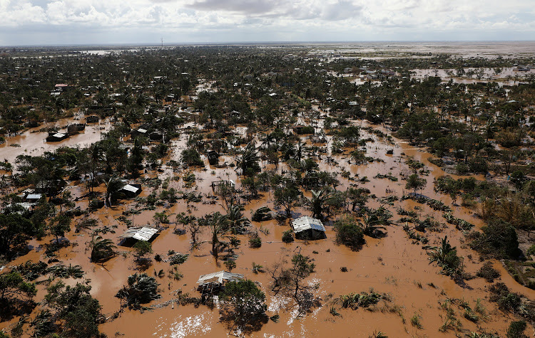 Flooded homes are seen after Cyclone Idai in Buzi district outside Beira, Mozambique, March 21, 2019. Picture: REUTERS / SIPHIWE SIBEKO