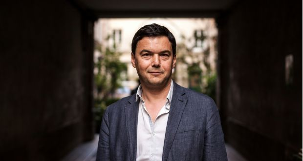 French economist Thomas Piketty: 'The profits of big global companies must be declared on a global level.' Photograph: Ed Alcock/New York Times