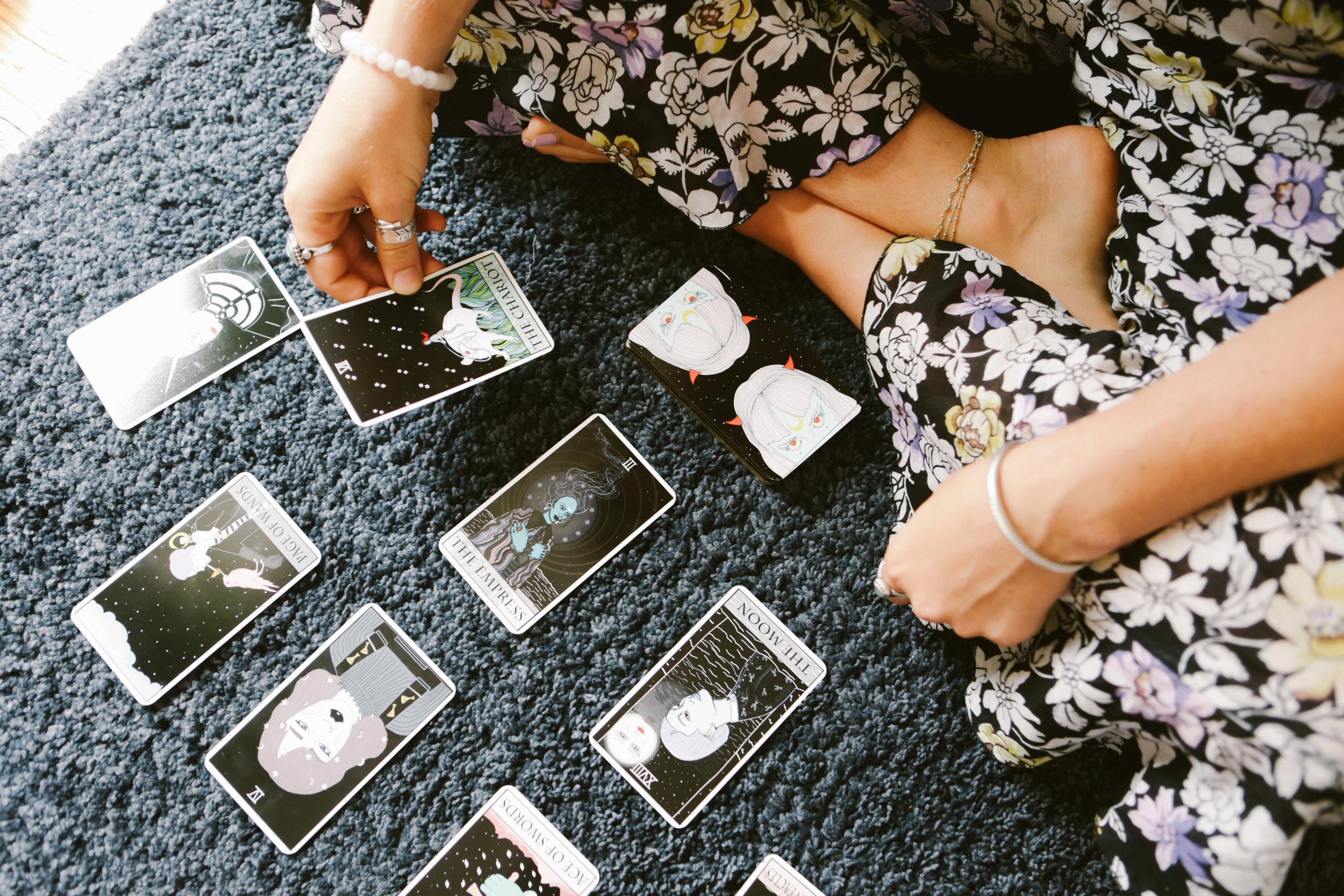 Meaghan O'Herron Brooklyn Tarot Intuitive Witch Magic Practice Holistic Integrative Healing