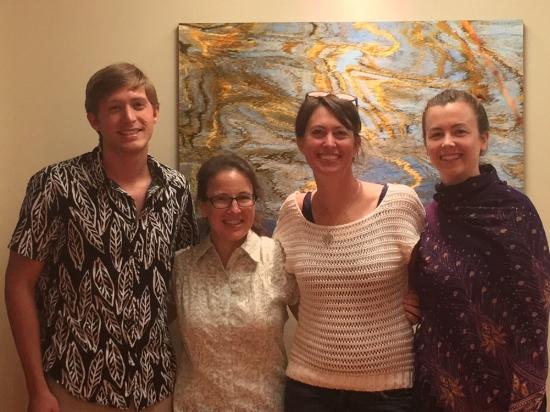 From left: Michael Bateman, Lena Lewis, Teri Kent, Stephanie Watson (not shown: Grey McLean).