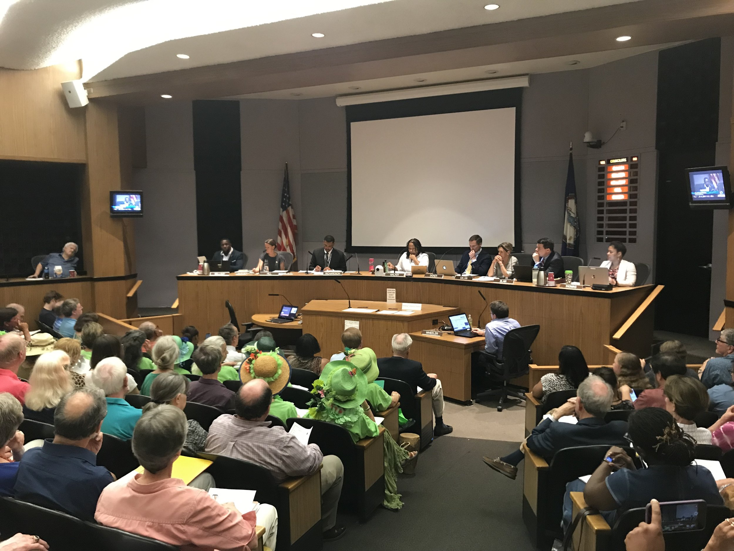 July 1st Charlottesville City Council Meeting
