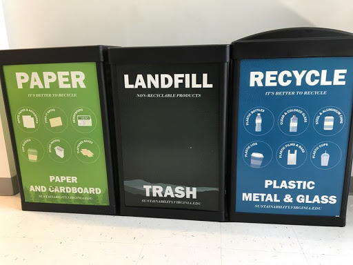 Photo from UVA Recycling Facebook