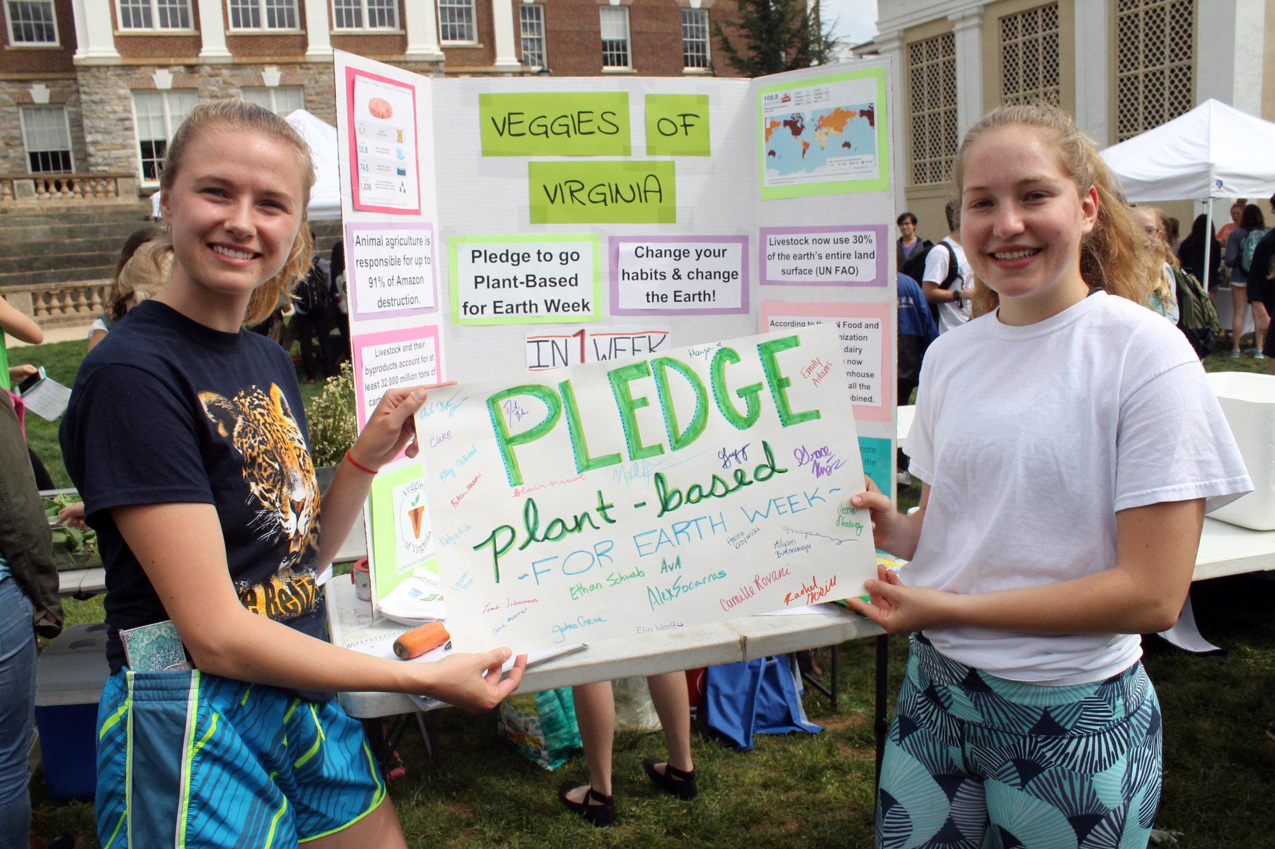 Photo courtesy of UVA Office of Sustainability