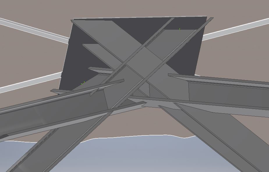 Render of Beam Intersection