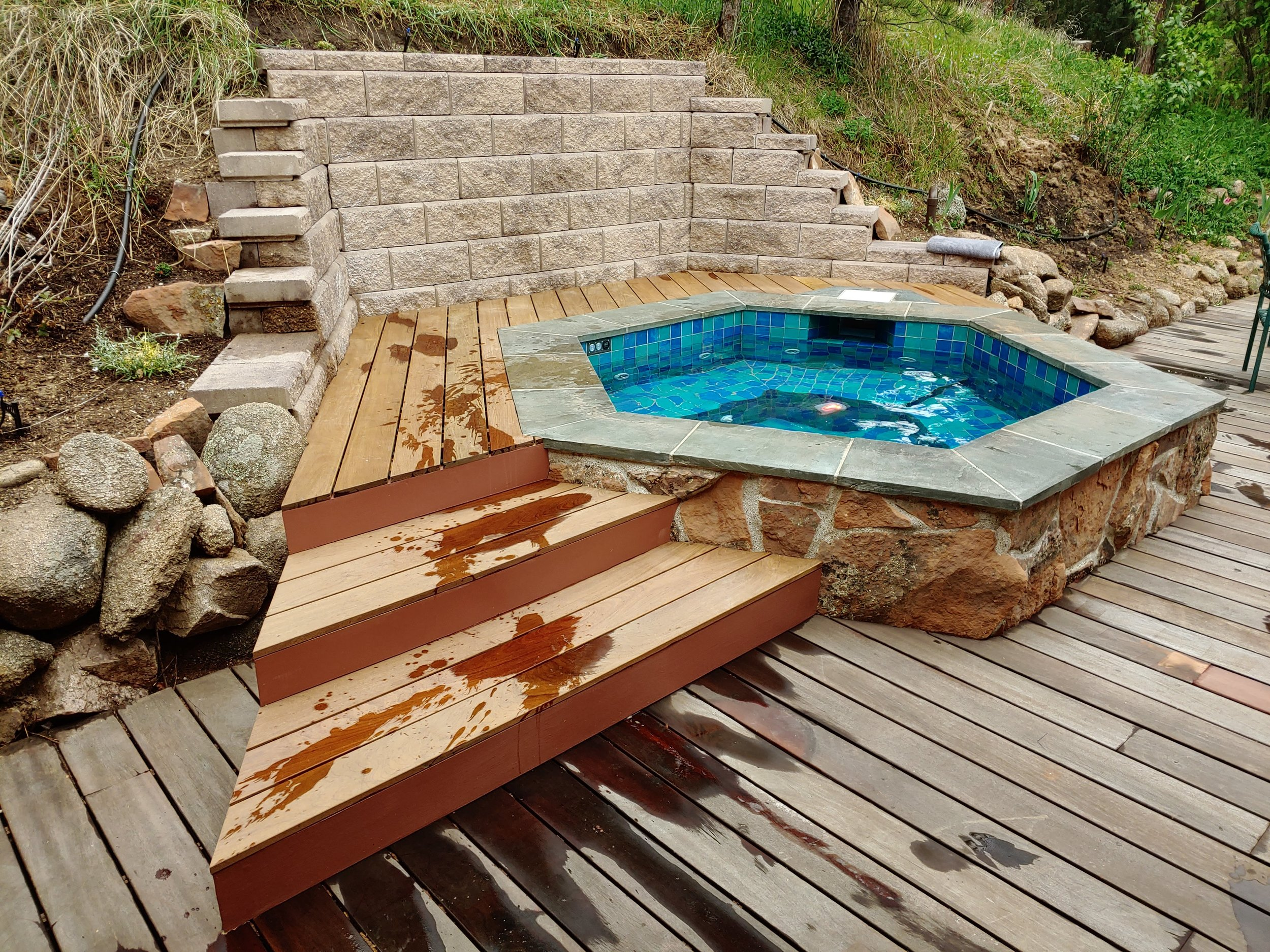 Hexagonal Hot Tub Never Stop Building Crafting Wood With Japanese Techniques