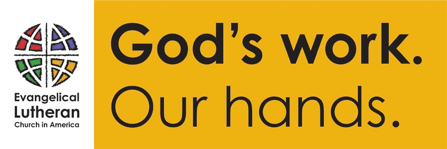 """God's work. Our hands."" Sunday at Shepherd of the Hills Lutheran Church in Issaquah and Sammamish, WA"