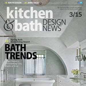 cover of kitchen and bath magazine