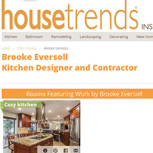 screenshot of house trends article