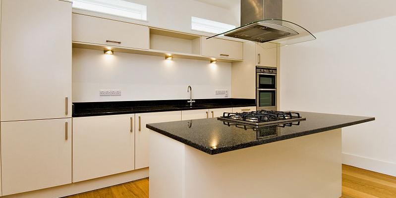 Kitchen detail in North Barn, Tredington, Gloucestershire