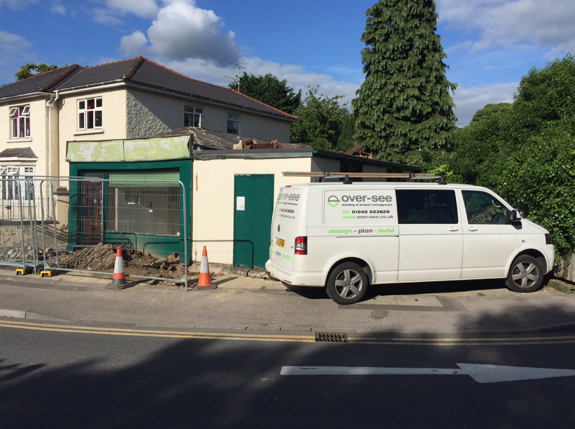 Site preparation - removing existing roof