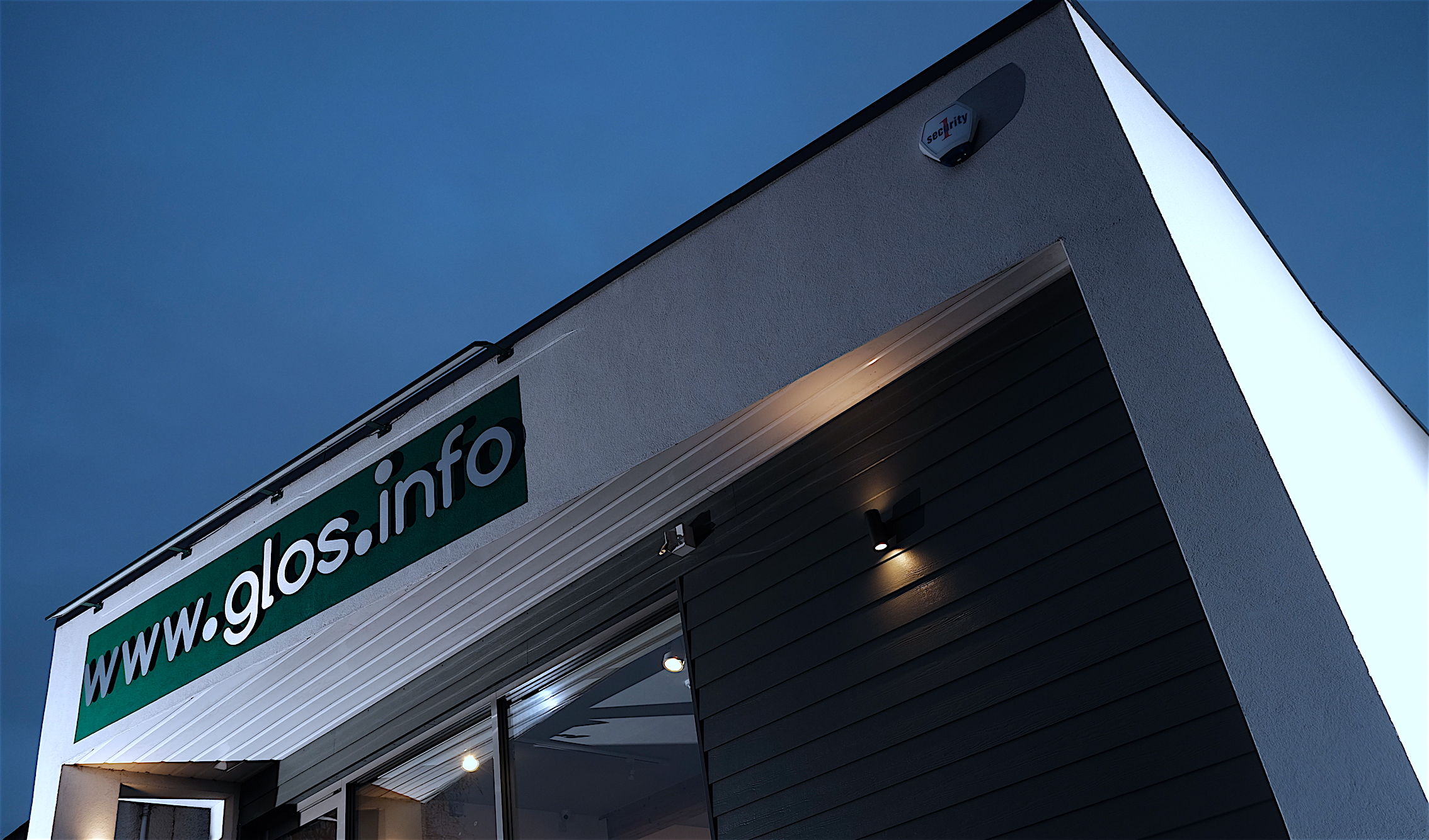 Glos Info – completed external facade