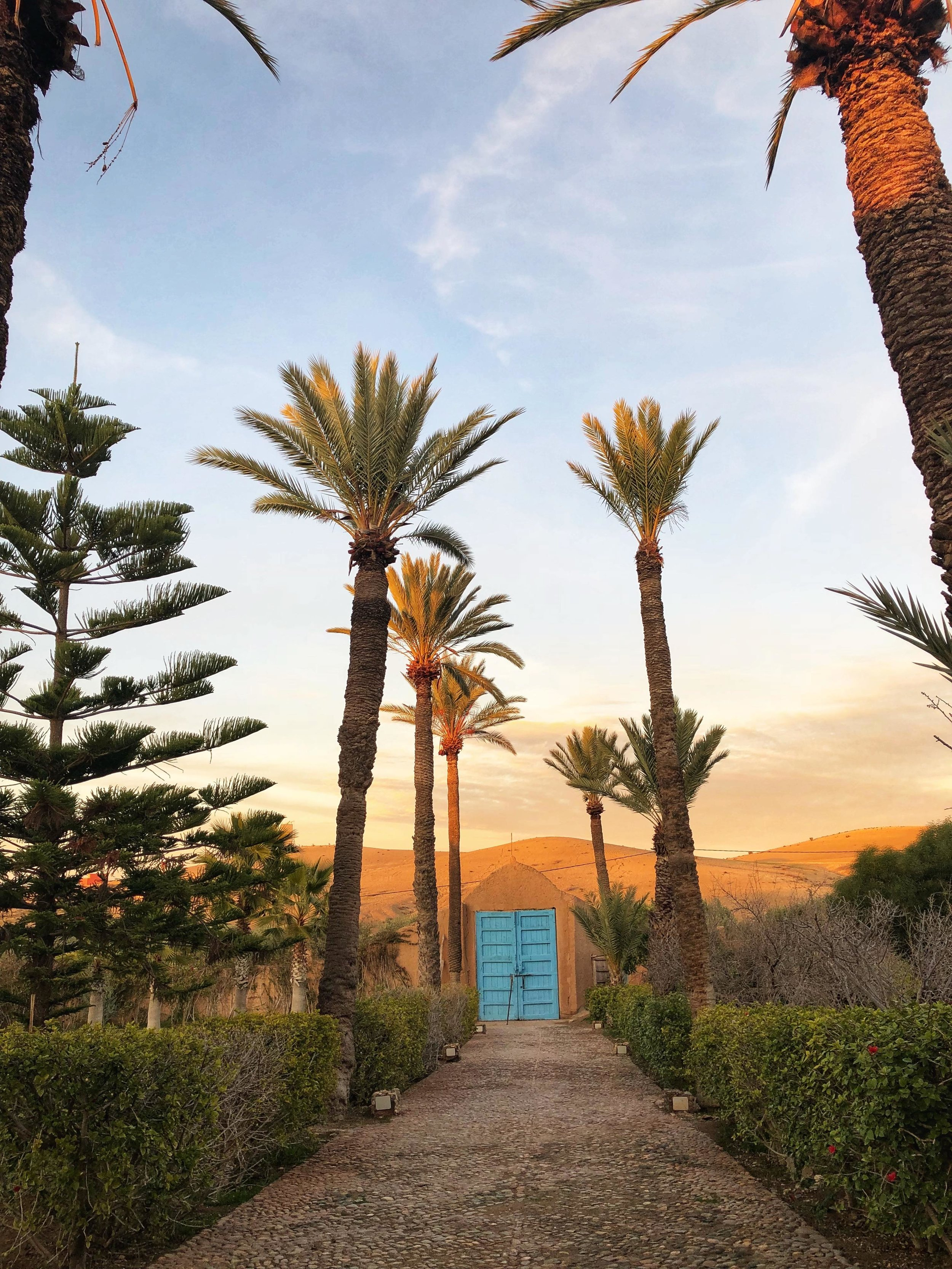 Our ecokasbah stay