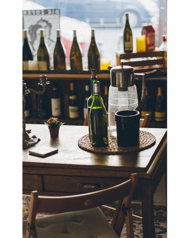 Mathias's favorite place in the wine cellar