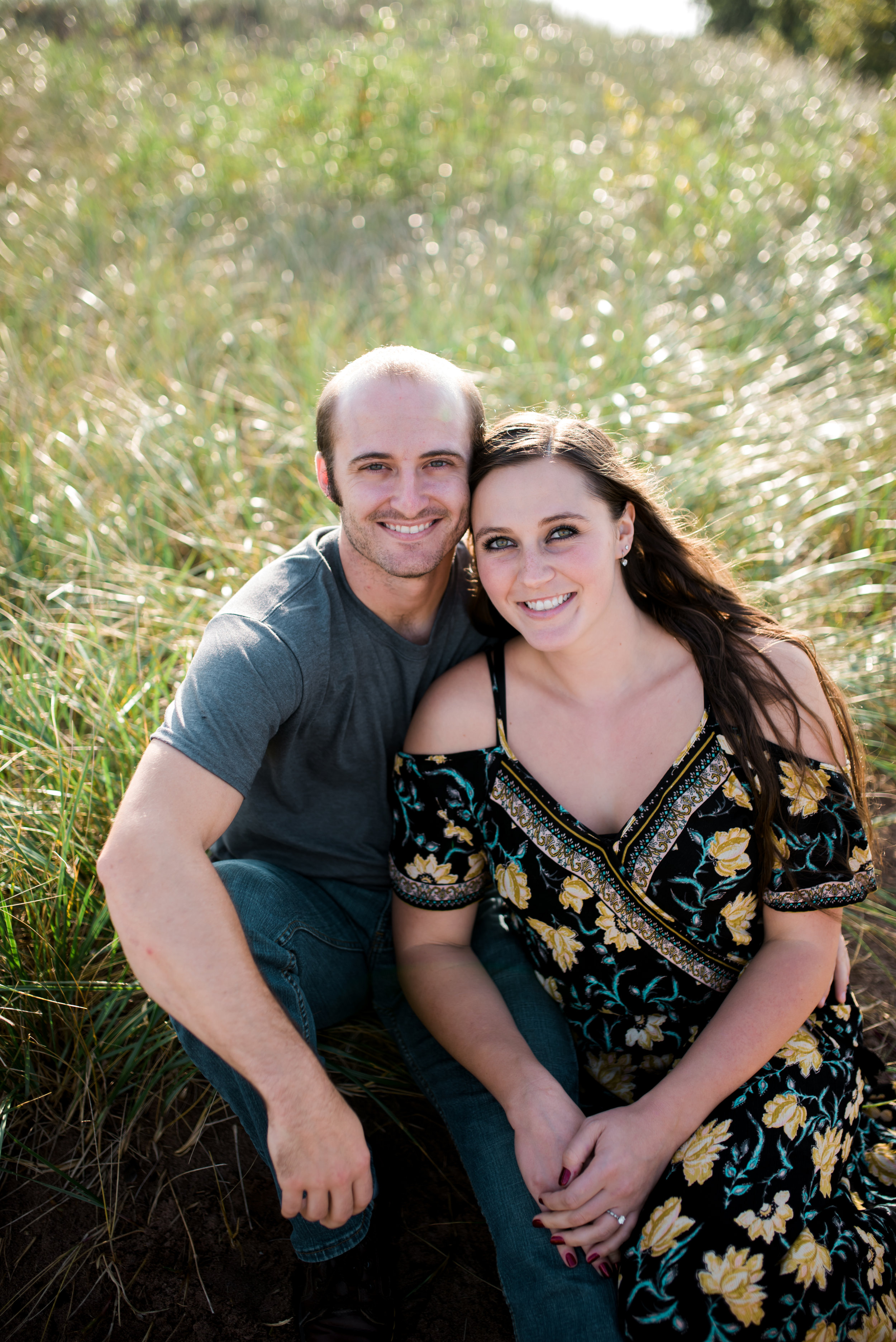 """Cory + Marlo  """"Shawna is fantastic! My fiance and I are so happy with our engagement photos! We came all the way from Colorado to take them in Duluth and Shawna was very open to our ideas and willing to work with us!  Thanks so much, Shawna!"""