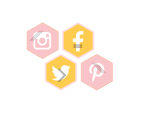 Babe Crafted Social Media Icons