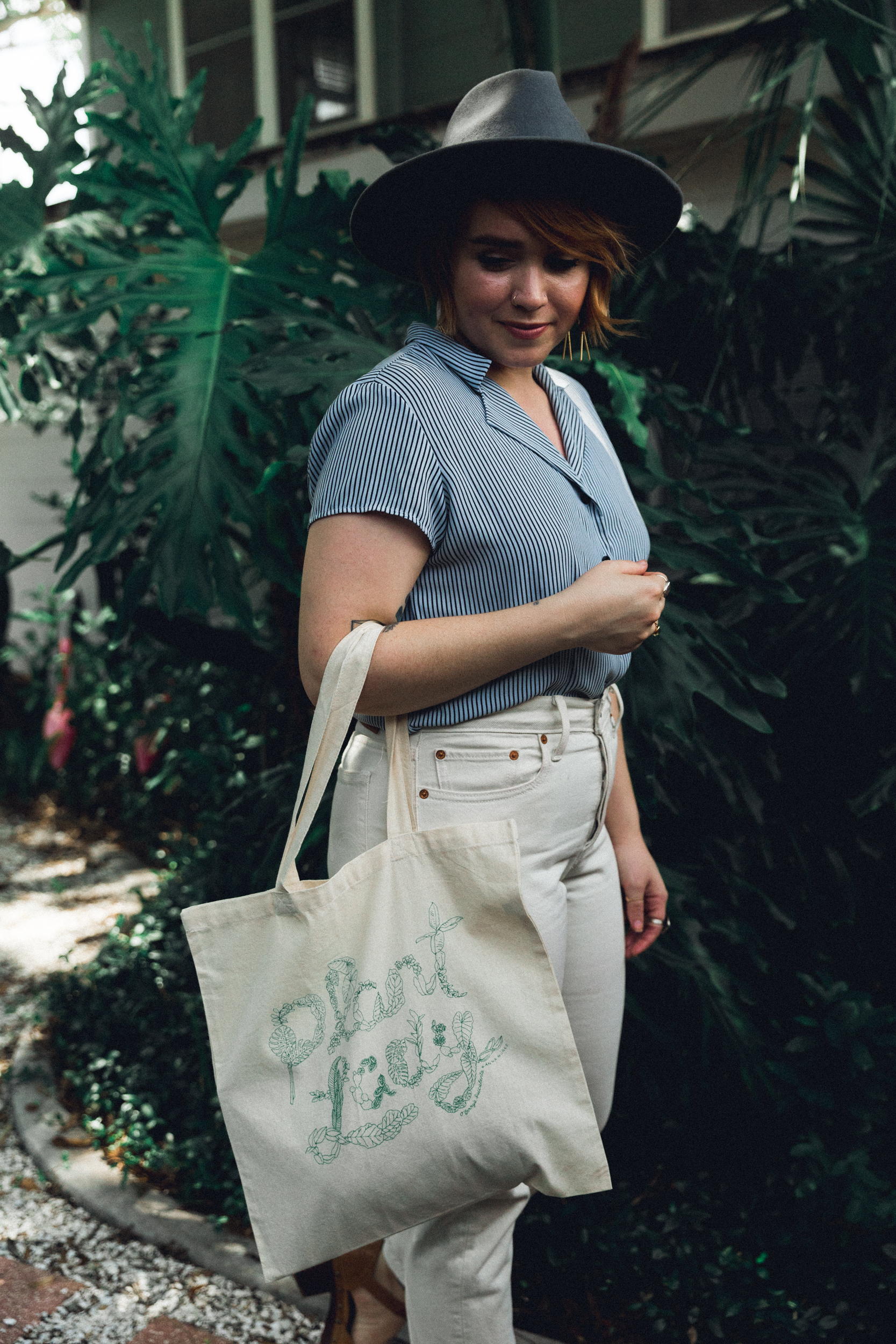 """O'Berry's Succulents """"Plant Lady"""" Tote. Design by Anna Núñez. Photography by Bridge + Bloom."""