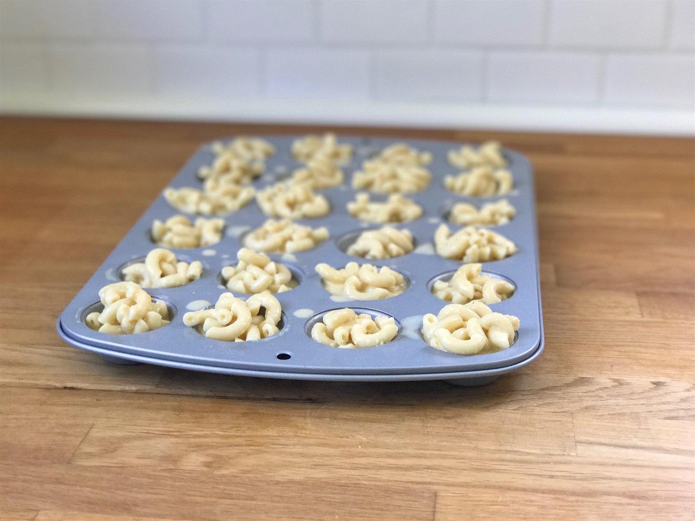 Mini Beer Mac & Cheese Bites