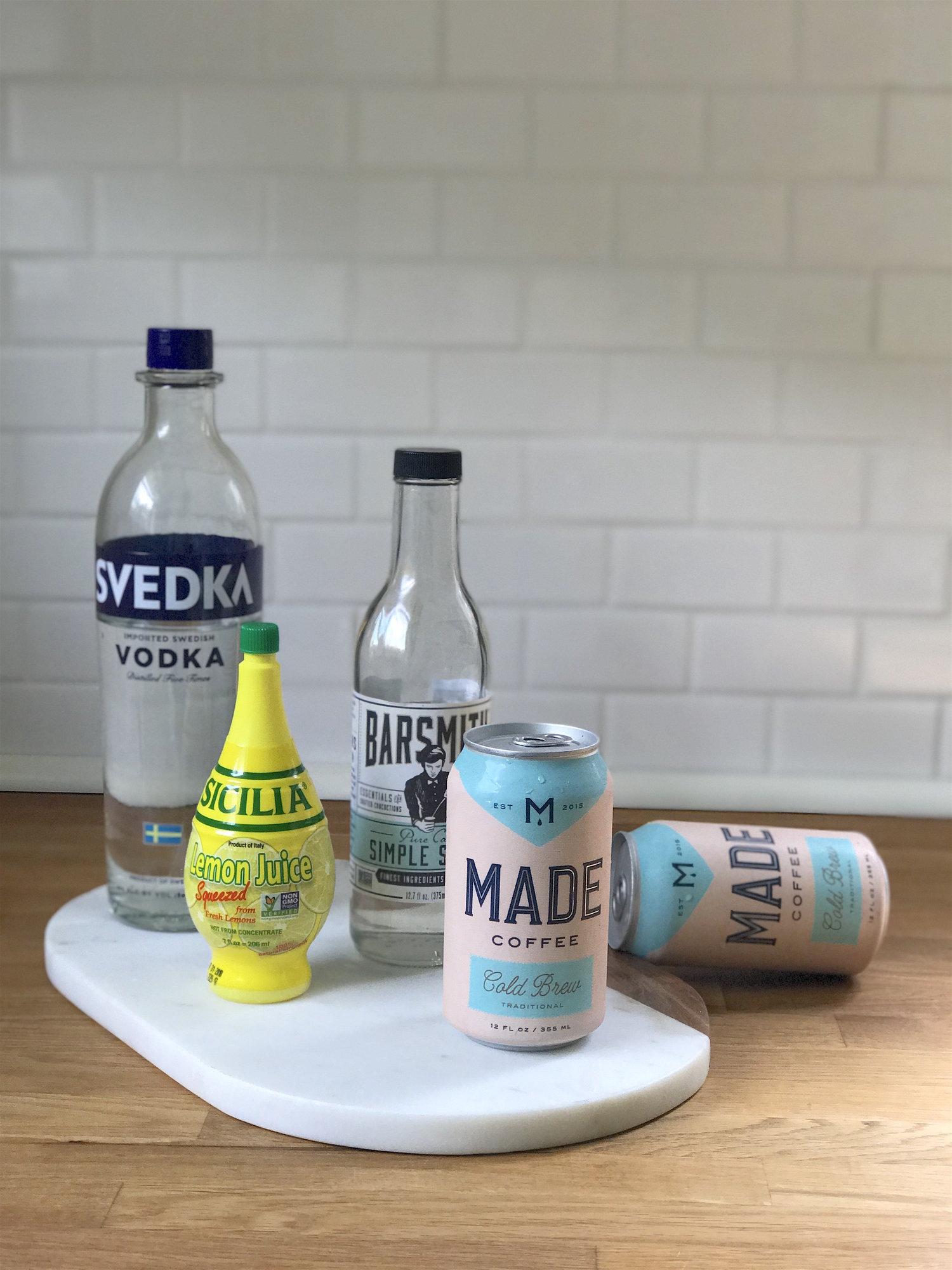 Cold Brew Lemonade Cocktails