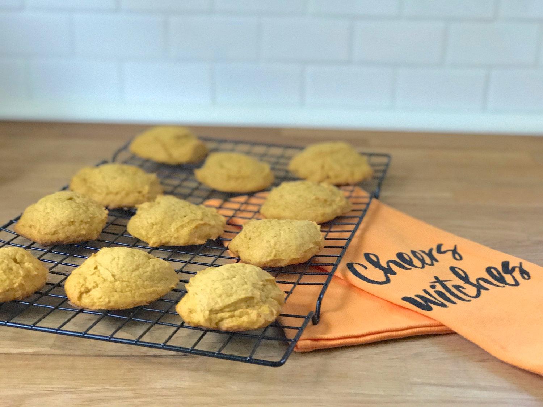 Pumpkin & Sea Salt Caramel Cookies