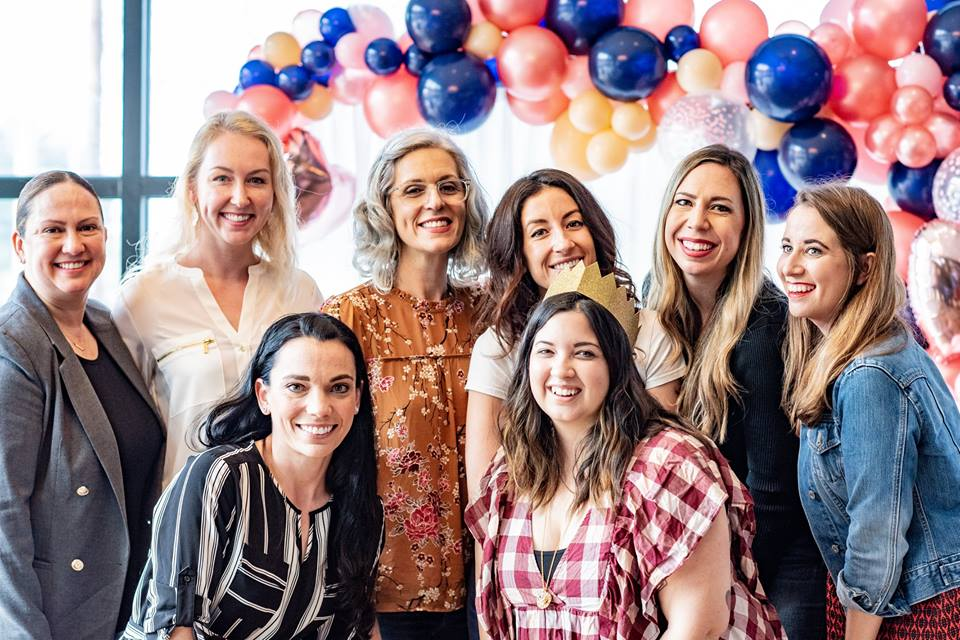 Rosana Rivera of Xilo Mexican // Liz Anthony of Liz Anthony Nutrition // Tonya Donati of Mother Kombucha // Taylor Prater of Made Coffee // Julie Curry of Bake'n Babes // Michelle Stark of Tampa Bay Times // Christal Kotchman-Giardina of Toast On The Town // Gina Moccio of Babe Crafted // Photo by Christina Jones Photography